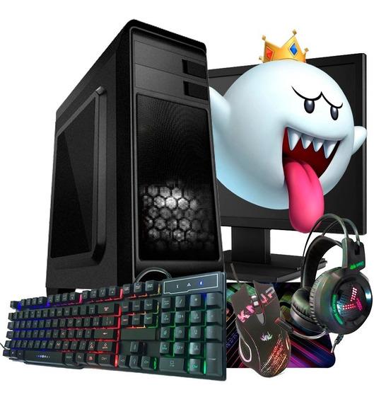 Pc Gamer Core I3 Edição Limitada Barato / 500gb + Jogos