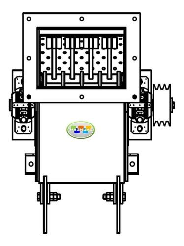 Imagen 1 de 1 de Planos Construye Maquina Trituradora Molino Martillo Tierra