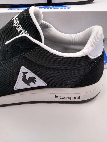 Tênis Masculino Le Coq Sportif Preto/ Branco