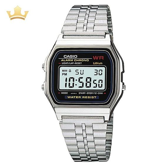Relógio Casio Feminino Vintage A159wa-n1df C/ Garantia E Nf