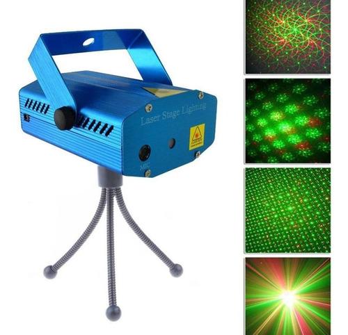 Imagen 1 de 5 de Laser Lluvia Multipunto Dj Luz Fiesta Audiorítmica Colores