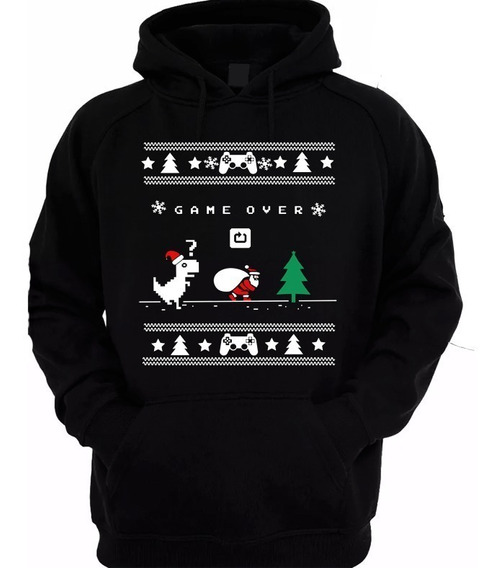 Suéter De Navidad Cleen Alexer Dinosaurio De Wifi Navideño 1