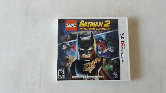 Lego Batman 2 Dc Super Heroes - Nintendo 3ds - Original