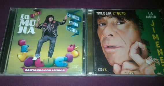 Lote 2 Cds La Mona - 45 Años/trilogía Segundo Acto Sellados