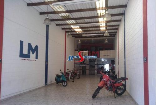 Salão Para Alugar, 180 M² Por R$ 7.500/mês - Mooca - São Paulo/sp - Sl0184