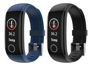 Reloj Smatwatch Control Temperatura Fitness Cardio Presion