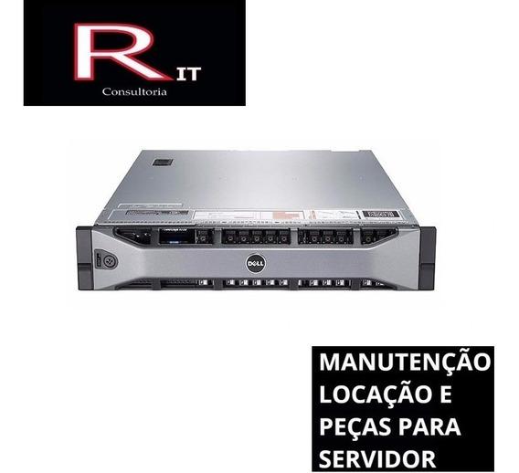Servidor Dell R720 2x E5-2670 128gb 2x600gb