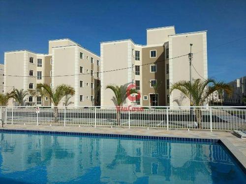 Imagem 1 de 23 de Apartamento, 2 Quartos, Sendo 1 Suíte, Atlântica, Rio Das Ostras/rj - Ap1392