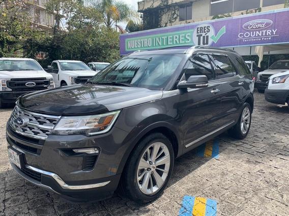 Ford Explorer 2018 Limited Excelente Camioneta
