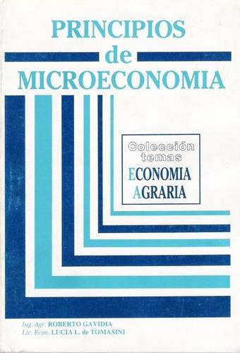 Gavidia: Principios De Microeconomía. Economía Agraria