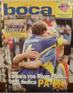 Revista Soy De Boca N°17 Bi Campeon 2006 Basile X Caballito