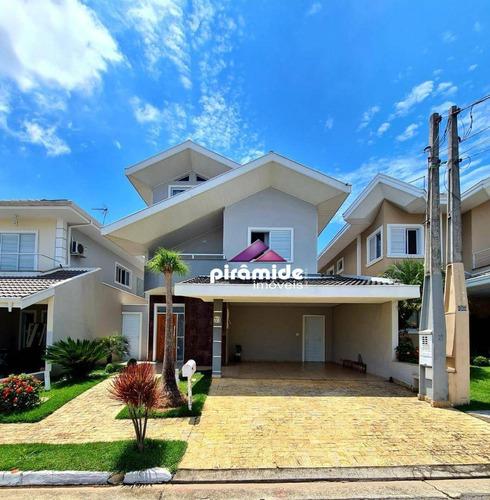 Casa Com 3 Dormitórios À Venda, 250 M² Por R$ 1.390.000,00 - Urbanova - São José Dos Campos/sp - Ca6055