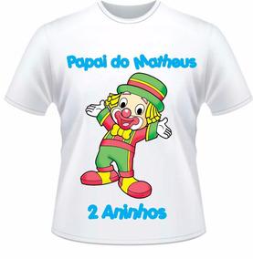 Camiseta Patati Patatá Personalizada Com Nome E Idade