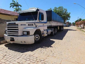 Scania 113 Top Line Com Carreta Guerra