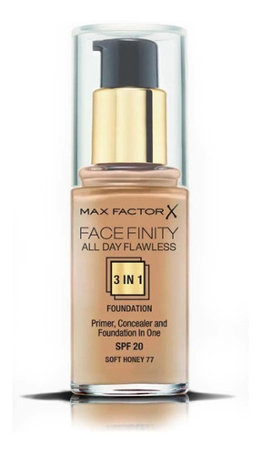 Base Max Factor Face Finity 3 In 1 Nº77