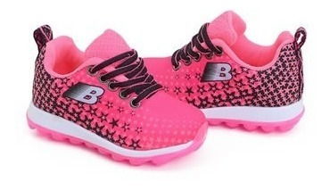 Tênis Infantil Feminino Botinho Pink