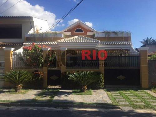 Casa De Rua-à Venda-jardim Sulacap-rio De Janeiro - Vvca20043