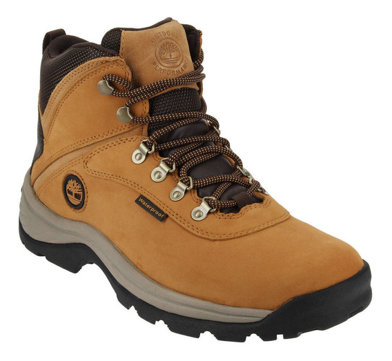 Bototo Hombre White Ledge Mid Waterproof Café Timberland