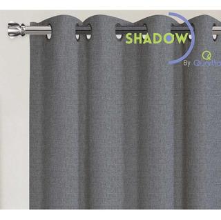 Cortinas Vanguard Grey 100% Blackout Con Arillos 142459