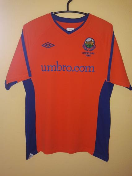 Camisa Do Linfield Fc 1886 (irlanda Do Norte) Umbro Tam M