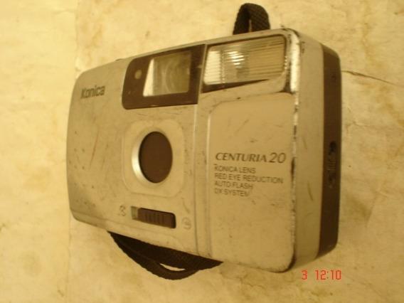 Cámara Konica Centuria 20 Colección Vintage 90
