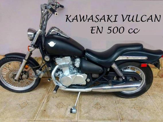 Kawasaki Vulcan En 500 Cc ( Custom, Bobber, Chopper, Troco)