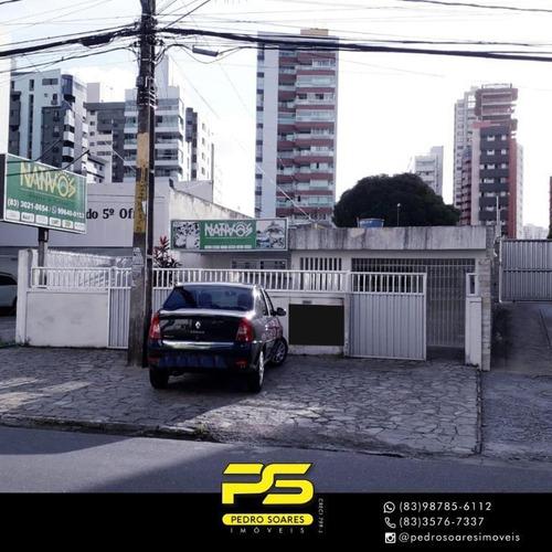 Casa Com 3 Dormitórios Para Alugar, 420 M² Por R$ 8.000/mês - Tambaú - João Pessoa/pb - Ca0767