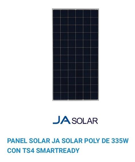 Panel Solar Policristalino 335w Ja Solar 72 Celdas