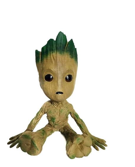 Figura Groot 15cm Impresión 3d - Flushastore