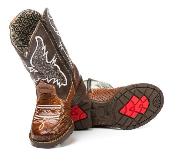 Bota Infantil Masculina Texana Country