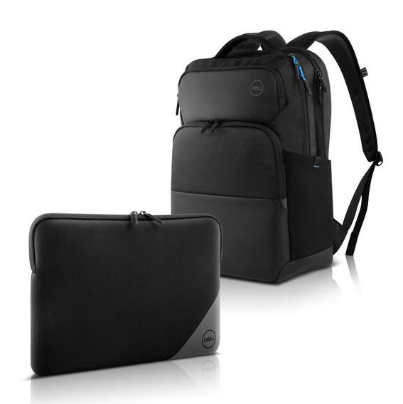 Combo Mochila Para Notebook Dell Pro + Capa Essential 15,6