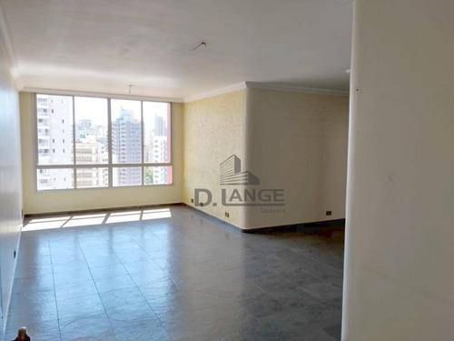 Imagem 1 de 30 de Apartamento Com 3 Dormitórios À Venda, 143 M² Por R$ 690.000,00 - Vila Itapura - Campinas/sp - Ap17453