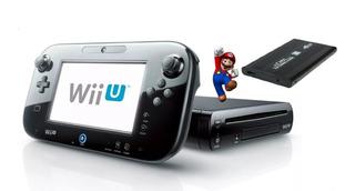 Wii U + Disco Duro 500 Gb.76 Juego. 6 Meses Garantía