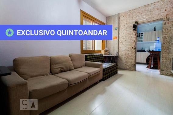 Apartamento No 2º Andar Mobiliado Com 2 Dormitórios - Id: 892948412 - 248412