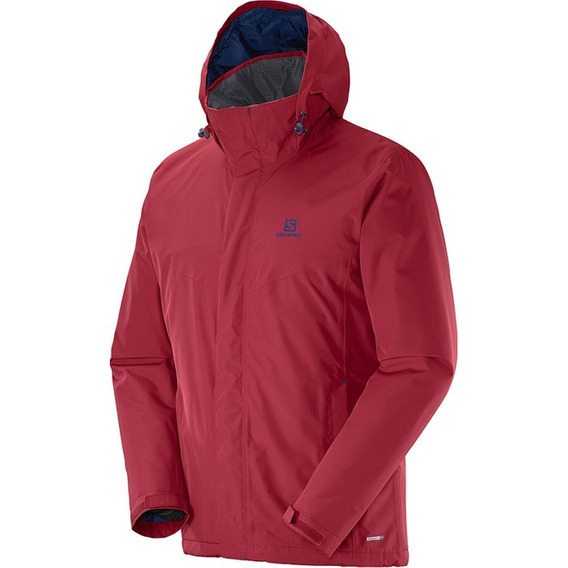 Campera Impermeable Salomon -elemental Insulated Jkt- Hombre