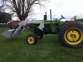 Tractor John Deere 3420 C/ Cabina 85hp Con Pala