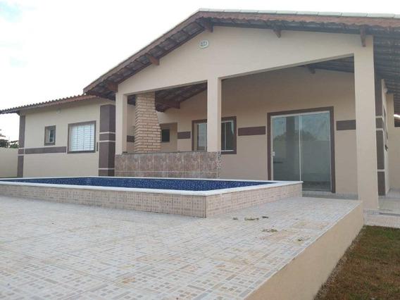 Casas Novas Lado Praia, Com Piscina E Área Gourmet -cod: 338 - V338