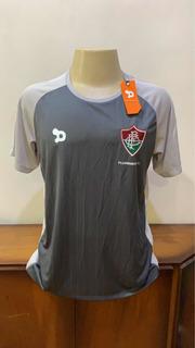 Camisa Fluminense Cinza Treino Dry World 2016 Tamanho G