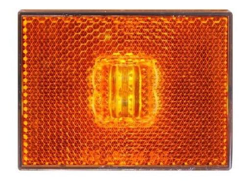 Imagen 1 de 4 de Grand General 78380 Amber Sealed 4led Marker And Clearance L