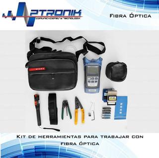 Kit De Herramientas Para Trabajar Con Fibra Optica