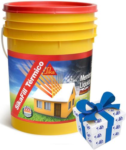 20k Membrana Liq Impermeabilizante Sika Fill Termico +regalo