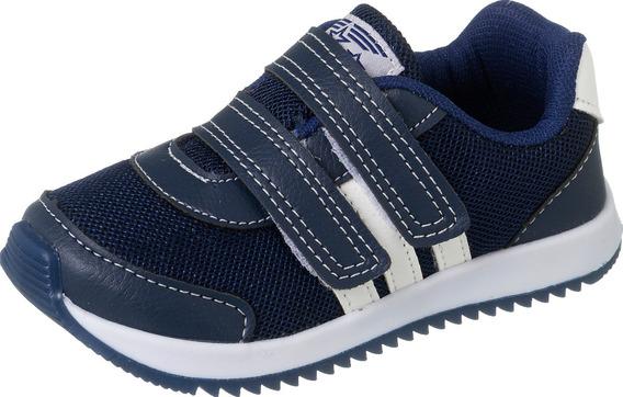Tênis Com Velcro Menino Infantil 010 (1 Par)