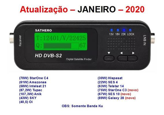 Atualização Sathero Sh-100hd