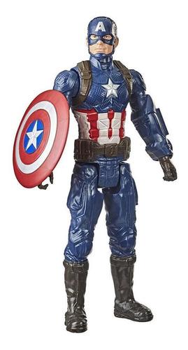 Boneco Avengers End Game Capitão América 30 Cm - Hasbro