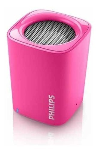Caixa De Som Bt100 Sem Fio Portátil Bluetooth Philips - Rosa