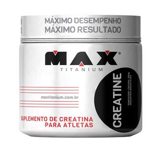Creatina 300g Max Titanium Promoção