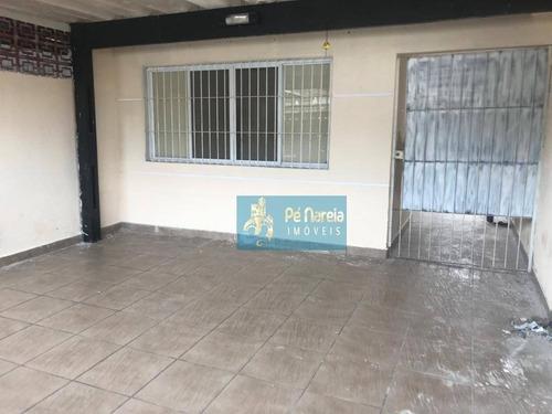 Casa Com 2 Suítes À Venda, 91 M² Por R$ 450.000 - Boqueirão - Praia Grande/sp - Ca0157