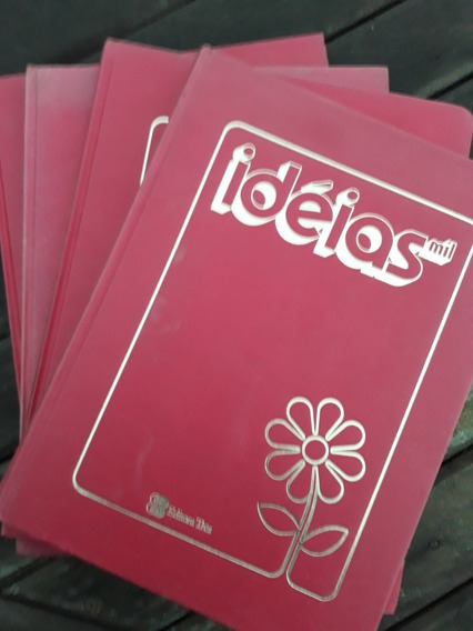 Livros Ideias Mil 4 Volumes Editora Três 1979 Frete Grátis