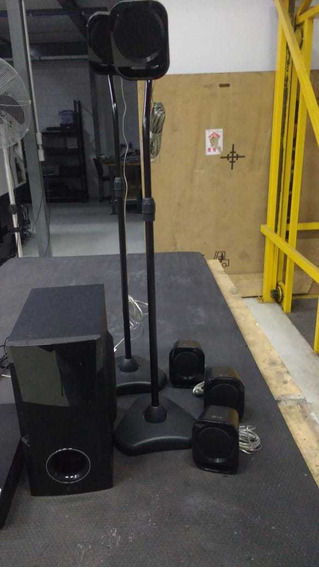 Home Theater Com Blu Ray LG Full Hd + 2 Pedestal