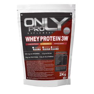 Whey Protein 3w 2kg Baunilha (hipertrofia)